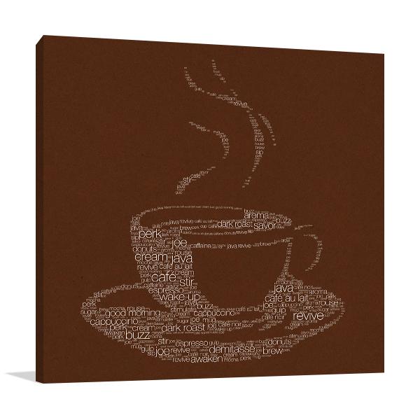 Coffee Talk II Wall Art Print