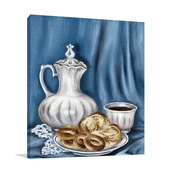 Coffee Time Print Art Canvas