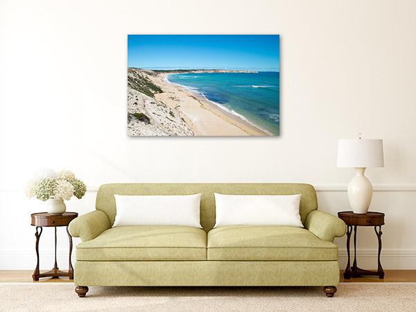Coffin Bay Wall Print Almonta Coast Canvas Art