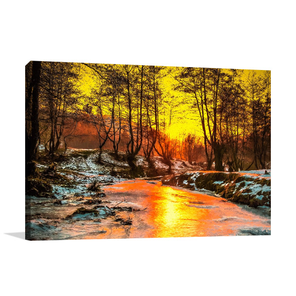 Cold Sunset Artwork