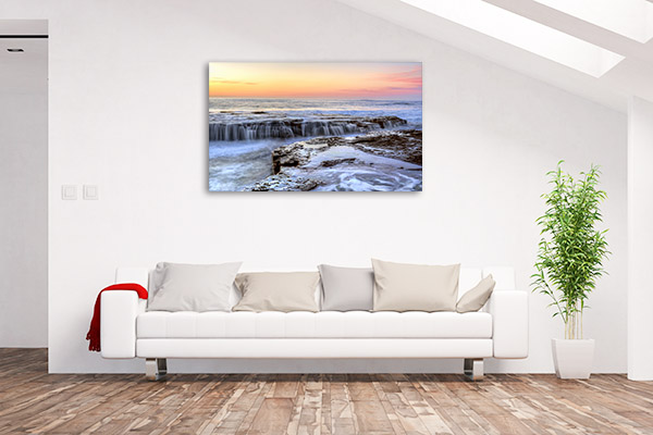 Coledale Art Print New South Wales Chasm Wall Canvas
