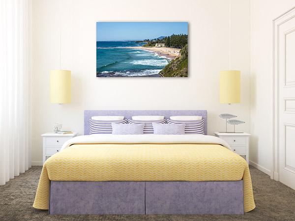 Coledale Beach Wall Art Print NSW Photo Canvas