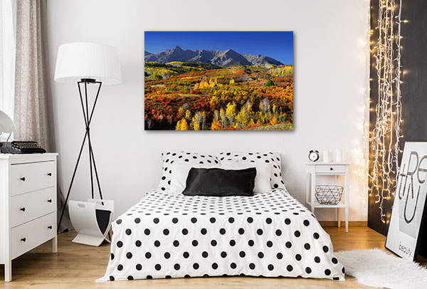 Colorado Fall Season Prints Canvas