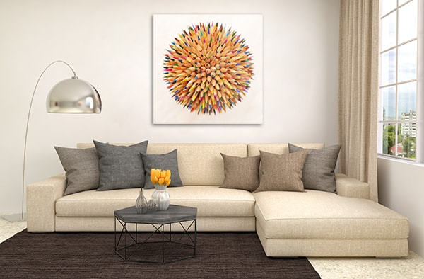 Colored Pencils Wall Art Print Art Prints