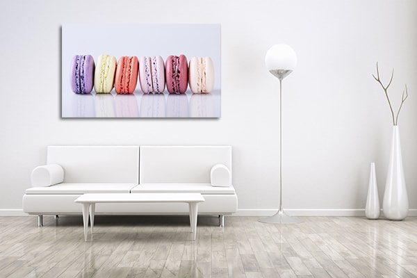 Colorful Macaroons Prints Canvas