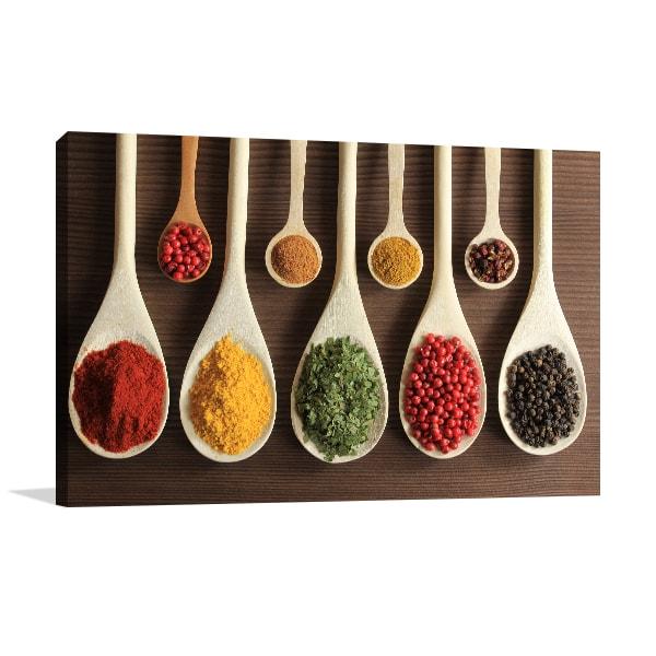 Colorful Spices Art Prints