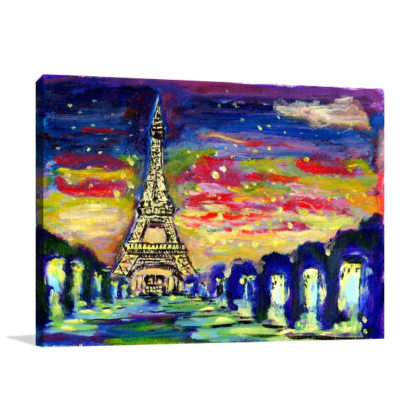 Colourful Sunset Canvas Art