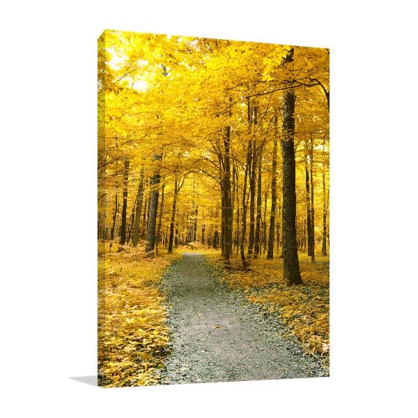 Colourful Autumn Trees Art Prints