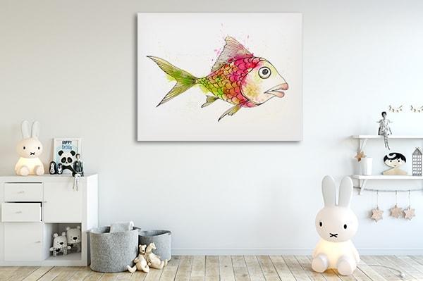 Colourful Fish Canvas Art