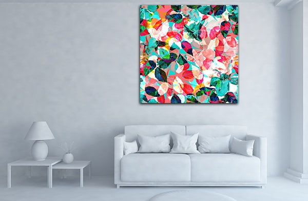 Colourful Foliage Art Prints