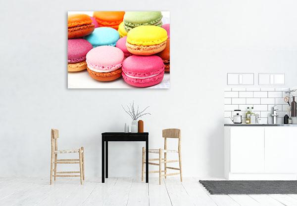 Colourful Macaroon Canvas Prints