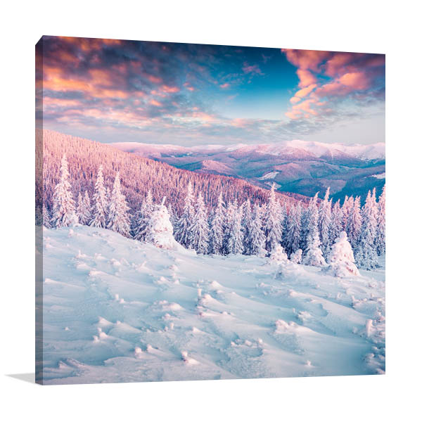 Colourful Morning Canvas Art Prints