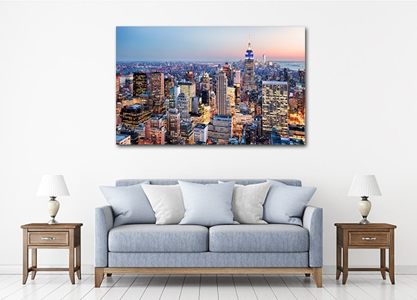 Colourful New York Canvas Prints