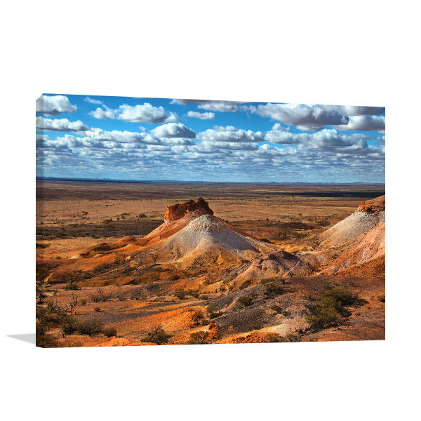 Coober Pedy Wall Print The Breakaways Canvas Photo