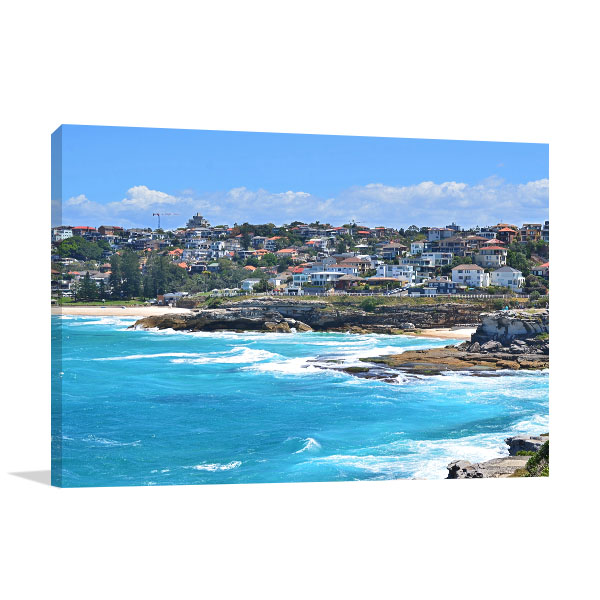 Coogee Art Print Bondi Beach Coastal Walk