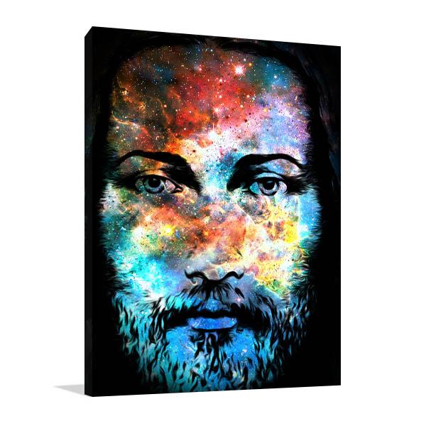 Cosmic Jesus Christ Art Prints