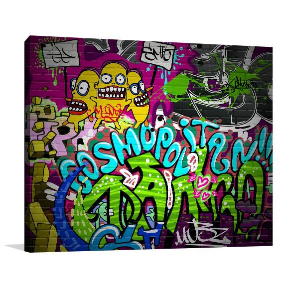 Cosmopolitan Wall Art