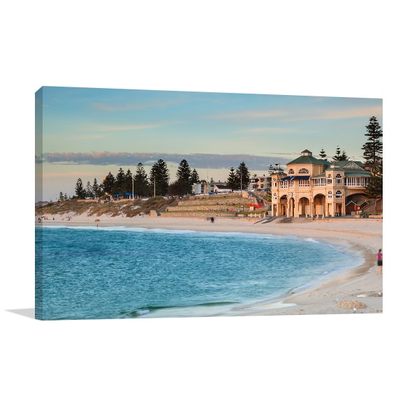 Cottesloe Beach in Perth Art Prints