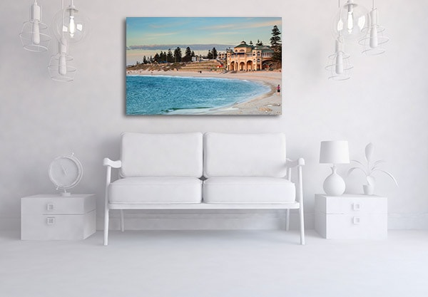 Cottesloe Beach in Perth Canvas Prints