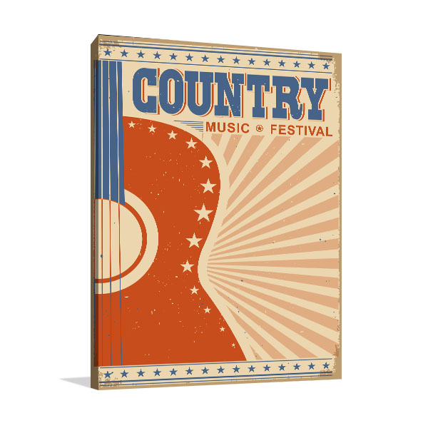 Country Music Canvas Prints