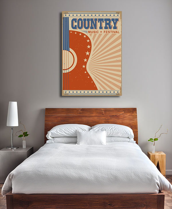 Country Music Prints Canvas
