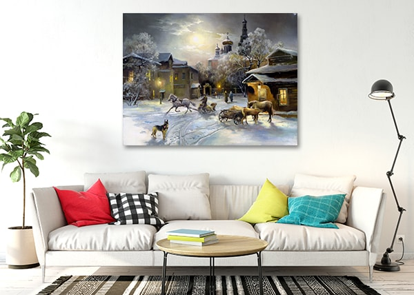 Countryside Life Wall Canvas Prints on the Wall