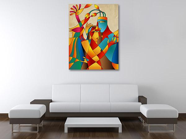 Couple Love Prints Canvas