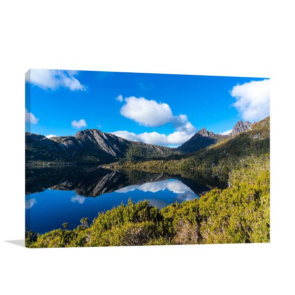Cradle Mountain Wall Print Dove Lake
