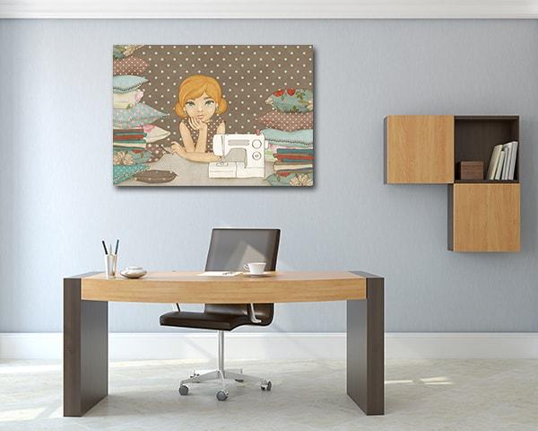 Crafty Girl Art Prints