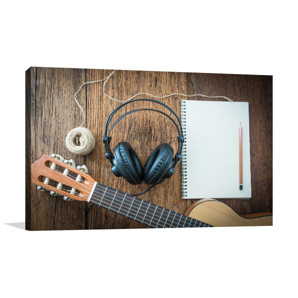 Creating Music Prints Canvas