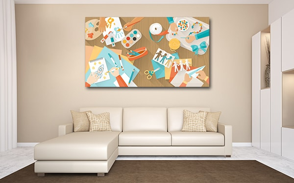 Creative Kids Canvas Prints