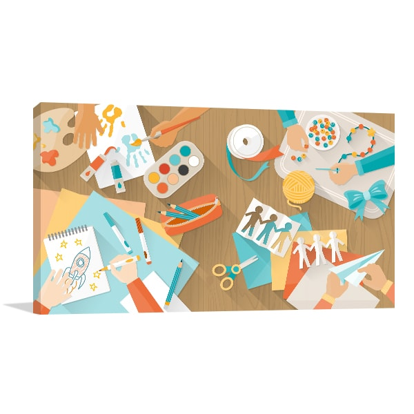 Creative Kids Prints Canvas