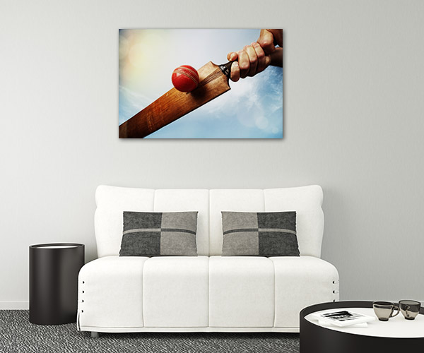 Cricket Batsman Canvas Prints