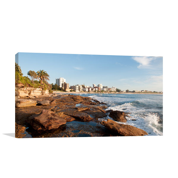 Cronulla Beach Art Print City View