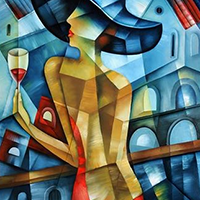 Cubism Artwork Prints on Canvas