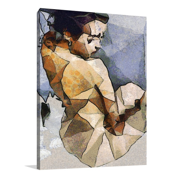 Cubism Women Art Prints