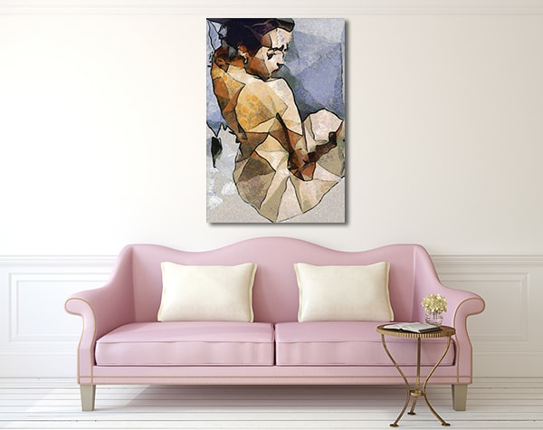 Cubism Women Prints Canvas