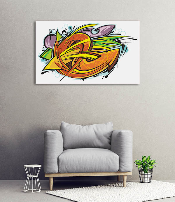 Culture Graffiti Canvas Art Prints