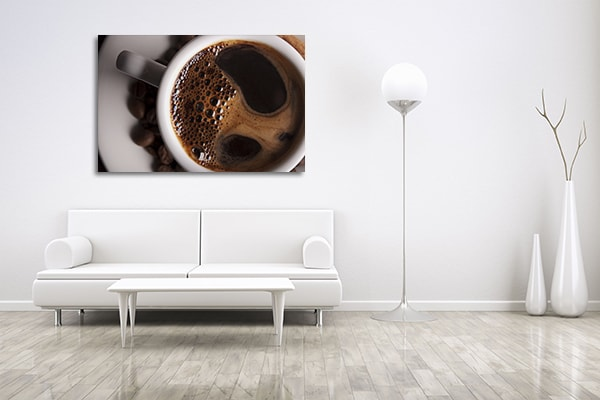 Cup of Coffee Canvas Art Prints