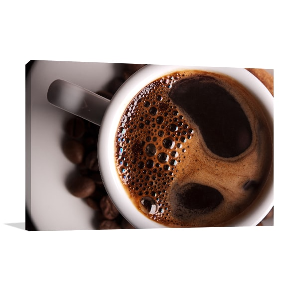 Cup of Coffee Prints Canvas