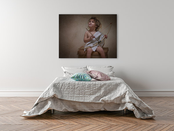 Cupid Canvas Art