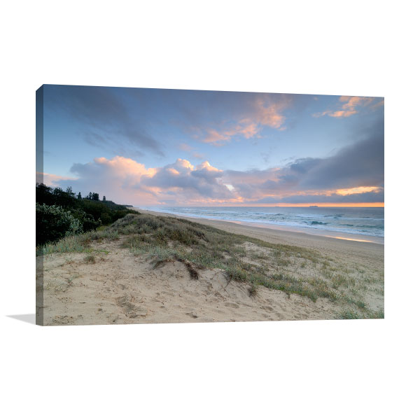 Currimundi Art Print Beach at Dawn