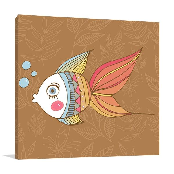 Cute Fish Art Prints