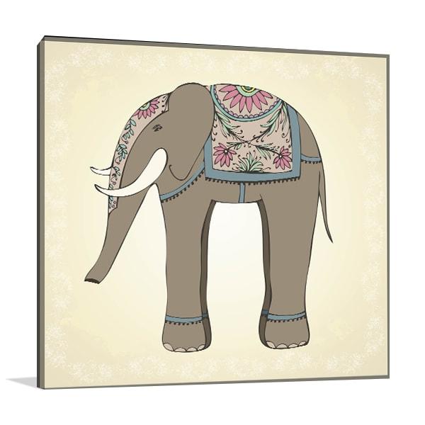 Cutie Elephant Artwork