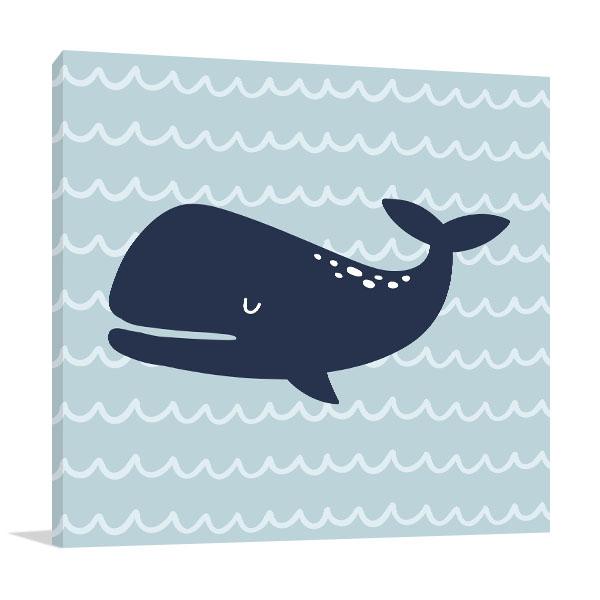 Cutie Whale Artwork