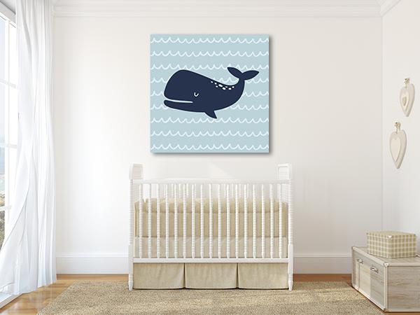 Cutie Whale Print Artwork