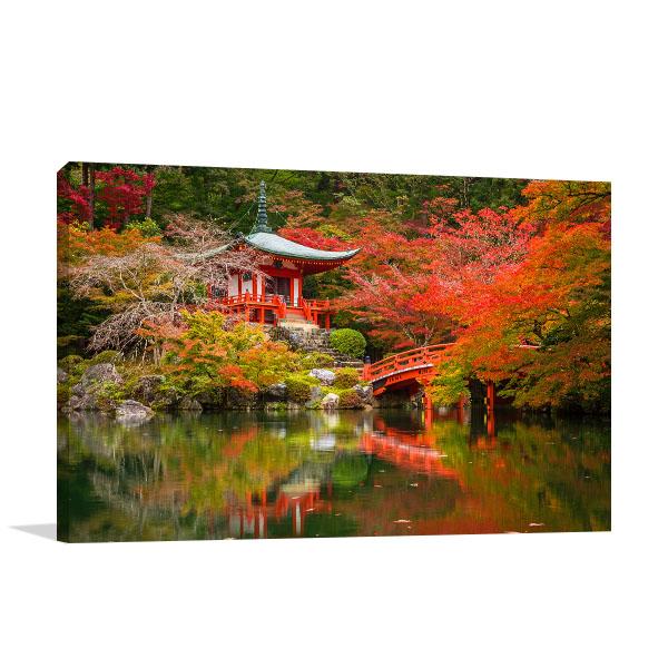 Daigo-ji Temple Artwork