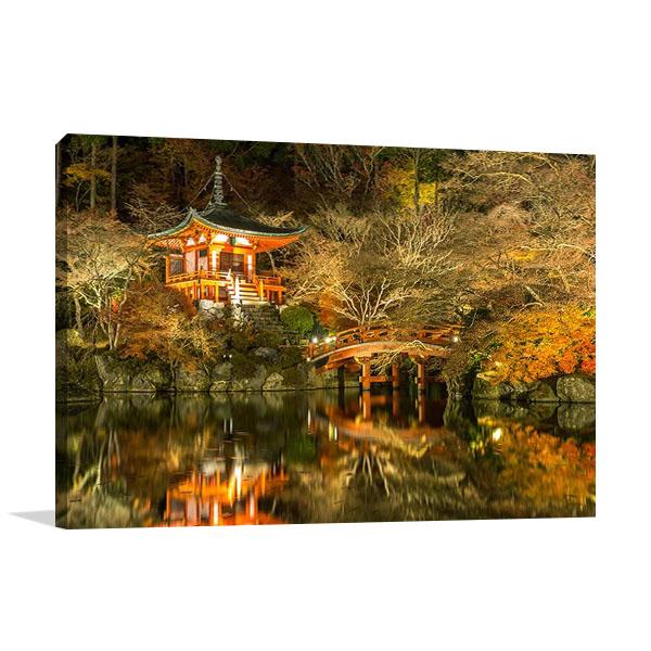 Daigoji Buddhist Temple Print