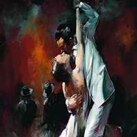 Dance Artwork Prints on Canvas