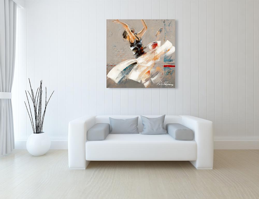 Figurative Dancer Wall Art Canvas